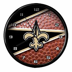 Officially Licensed New Orleans Saints Team Football Clock