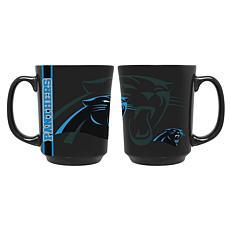 Officially Licensed NFL 11 oz. Reflective Mug - Carolina Panthers