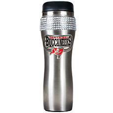 Officially Licensed NFL 14 oz. Travel Tumbler - Bucs