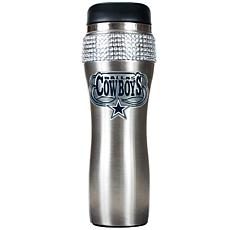 Officially Licensed NFL 14 oz. Travel Tumbler - Cowboys