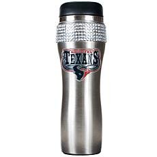 Officially Licensed NFL 14 oz. Travel Tumbler - Texans