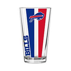 Officially Licensed NFL 16 oz. Vertical Decal Pint - Bills