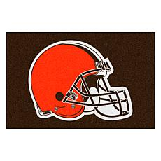 "Officially Licensed NFL 19"" x 30"" Logo Starter Mat - Cleveland Browns"