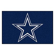 """Officially Licensed NFL 19"""" x 30"""" Rug - Dallas Cowboys"""