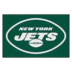 "Officially Licensed NFL 19"" x 30"" Rug - New York Jets Rug"