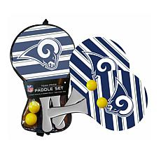 Officially Licensed NFL 2-pack Beach Paddle - Los Angeles Rams