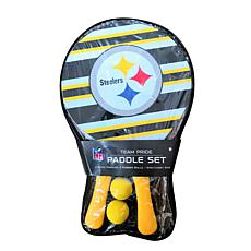 Officially Licensed NFL 2-pack Beach Paddle - Pittsburgh Steelers