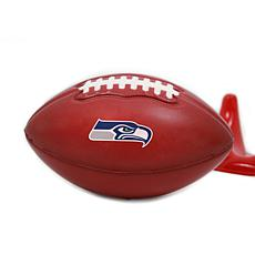 Officially Licensed NFL 2-pack Stress Football - Seattle Seahawks