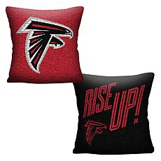 """Officially Licensed NFL 20"""" Invert Pillow - Falcons"""