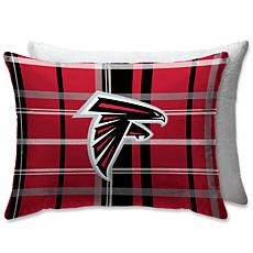 """Officially Licensed NFL 20"""" x 26"""" Plush Bed Pillow - Atlanta Falcons"""