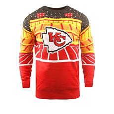 low priced 9e799 b6f5c Officially Licensed NFL 2018 Bluetooth Light-Up Sweater by Team Beans