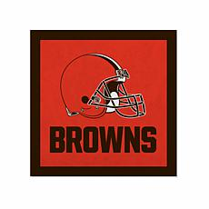 """Officially Licensed NFL 23"""" Felt Wall Banner - Cleveland Browns"""