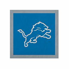 "Officially Licensed NFL 23"" Felt Wall Banner - Detroit Lions"