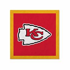 "Officially Licensed NFL 23"" Felt Wall Banner - Kansas City Chiefs"