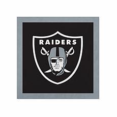 "Officially Licensed NFL 23"" Felt Wall Banner - Las Vegas Raiders"