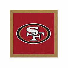 "Officially Licensed NFL 23"" Felt Wall Banner - San Francisco 49ers"
