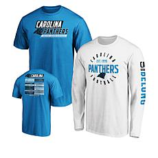 size 40 55115 1c723 Officially Licensed NFL 3-in-1 T-Shirt Combo by Fanatics
