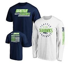 size 40 a5adc 2b7a8 Officially Licensed NFL 3-in-1 T-Shirt Combo by Fanatics