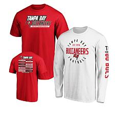 size 40 1732a f500f Officially Licensed NFL 3-in-1 T-Shirt Combo by Fanatics