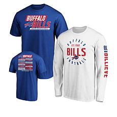 size 40 80f4d 629c8 Officially Licensed NFL 3-in-1 T-Shirt Combo by Fanatics