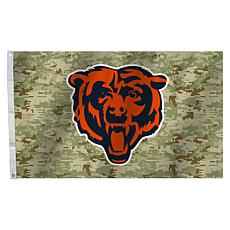 "Officially Licensed NFL 3"" x 5"" Camo Flag - Bears"