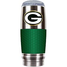 Officially Licensed NFL 30 oz. Stainless Steel/Green Re