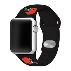 Officially Licensed NFL 38/40mm Apple Watch Band - Cleveland Browns