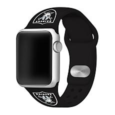 Officially Licensed NFL 38/40mm Apple Watch Band - Oakland Raiders