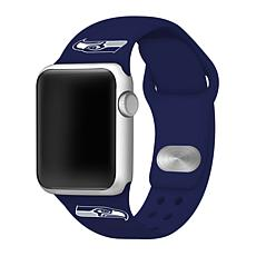 Officially Licensed NFL 38mm/40mm Apple Watch Sport Band - Seahawks