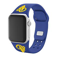 Officially Licensed NFL 38mm/40mm Apple Watch Sport Band - Rams