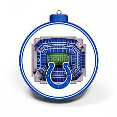 Officially Licensed NFL 3D StadiumView Ornament 2-pack - Indianapolis