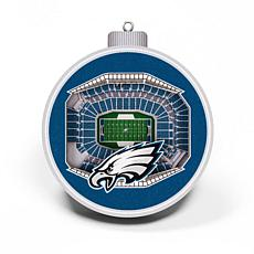 Officially Licensed NFL 3D StadiumView Ornament 2-pack - Philadelphia
