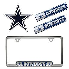 Officially Licensed NFL 4-piece Truck Kit