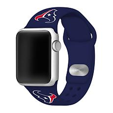 Officially Licensed NFL 42/44mm Apple Watch Band - Houston Texans