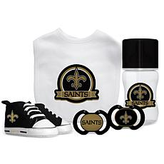 Officially Licensed NFL 5-piece Baby Gift Set - New Orleans Saints