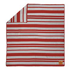 Officially Licensed NFL Acrylic Stripe Throw Blanket - Chiefs