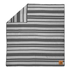 Officially Licensed NFL Acrylic Stripe Throw Blanket-Cleveland Browns
