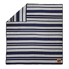 Officially Licensed NFL Acrylic Stripe Throw Blanket-Los Angeles Rams