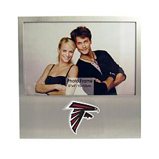 Officially Licensed NFL Aluminum Picture Frame - Atlanta Falcons
