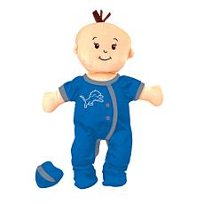 Officially Licensed NFL Baby Fanatic Wee Baby Doll - Detroit Lions
