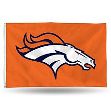 Officially Licensed NFL Banner Flag - Broncos
