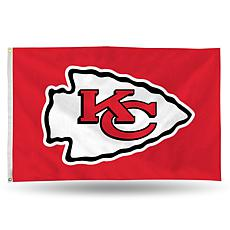 Officially Licensed NFL Banner Flag - Chiefs