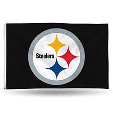 Officially Licensed NFL Banner Flag - Steelers