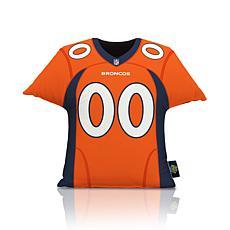 Officially Licensed NFL Big League Jersey Pillow - Denver Broncos