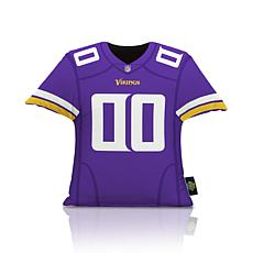 Officially Licensed NFL Big League Jersey Pillow - Minnesota Vikings