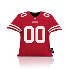 Officially Licensed NFL Big League Jersey Pillow - San Francisco 49ers
