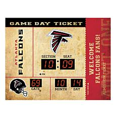 Officially Licensed NFL Bluetooth Wall Clock - Falcons