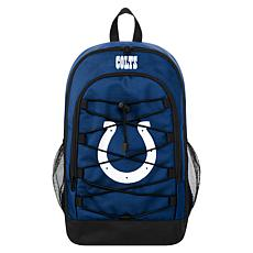 Officially Licensed NFL Bungee Backpack - Indianapolis Colts
