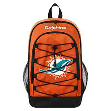 Officially Licensed NFL Bungee Backpack - Miami Dolphins