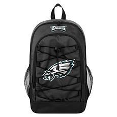 Officially Licensed NFL Bungee Backpack - Philadelphia Eagles